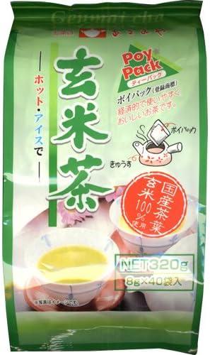 あさみや 玄米茶 ティーバック 8g×40包