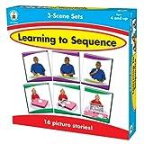 Carson-Dellosa Publishing 3-Scene: Learning to Sequence