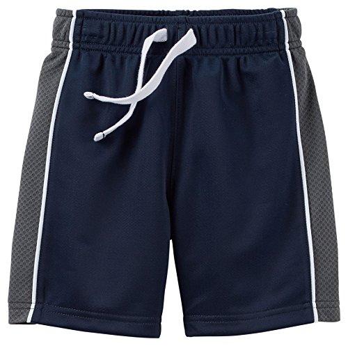 "Carter's Little Boys' Toddler ""Racing Stripe"" Shorts"