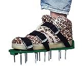 Lawn Aerator Shoes, UNIFUN Pair of Spikes Aerator