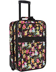 Owl Print Carry On Luggage