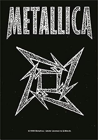 Metallica,Ninja Logo, Fahne: Metallica: Amazon.es: Música