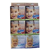Spiffies Multipack 120 Wipes, 80 Apple and 40 Grape