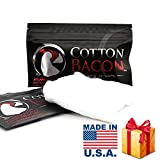 Cotton Bacon, 10 pcs Cotton Bacon Organic Muscle Cotton for DIY Project (1 bag)