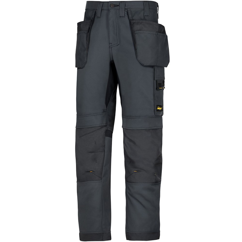 Snickers 62010404048 Size 48'Allroundwork' Work Trousers with Holster Pockets - Black