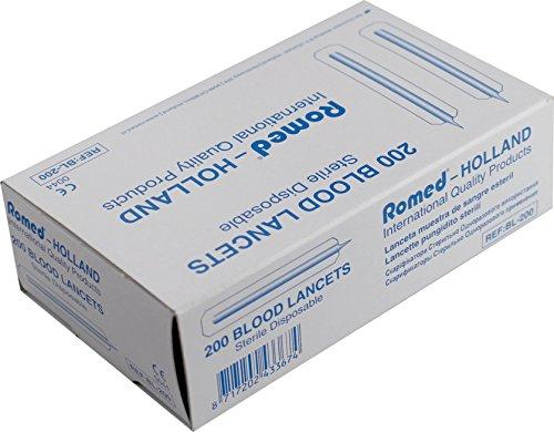 200 Lanzetten steril Blutlanzetten Diabetiker Sticks