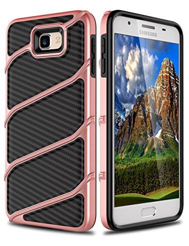 Slim Shockproof Case for Samsung Galaxy On7 (Gold) - 8