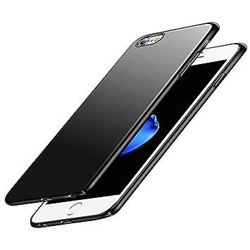 Funda iPhone 6 iPhone 6S, Vkaiy iPhone 6S IPhone 6 Carcas , Antihuellas, Antiarañazos de Carcasa Rígida, Ultra Fino PC Negro Hardcase Bumper para ...