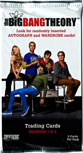 [Cryptozoic Big Bang Theory Seasons 1 2 Trading Card Pack] (9 To 5 Costumes)