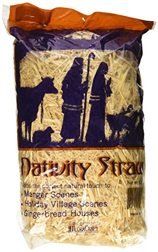 (FloraCraft Decorative Nativity Straw 4 Ounce)