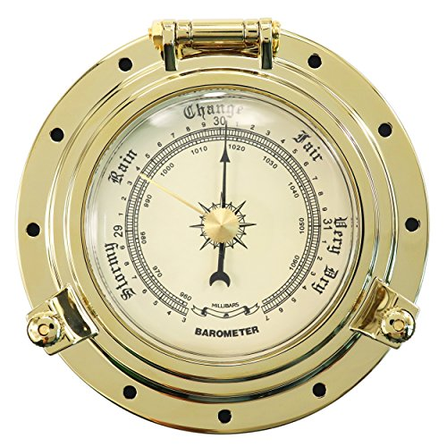 iztor Cutter Collection Barometer-Gold