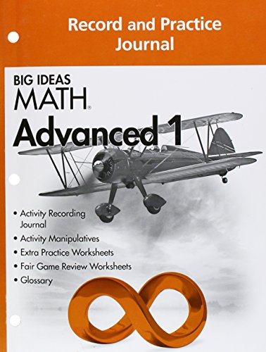Big Ideas MATH: Common Core Record & Practice Journal Advanced 1
