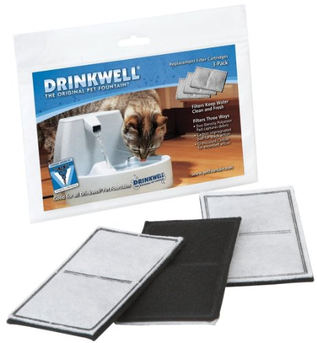Drinkwell-2-Chamber-Replacement-Filters-for-Drinkwell-Original-3-Filters