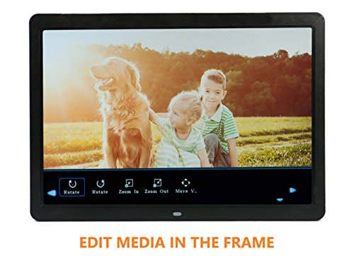 Buy 15 4 inch Digital Photo Frame 1080p and Video with a Motion