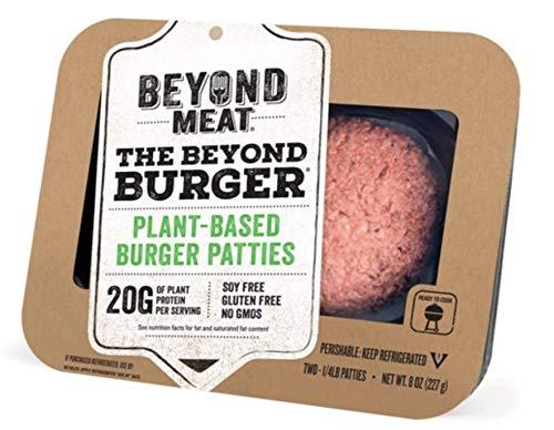 Beyond Meat Burger, World's First Plant-Based Burger, Vegan, No GMOs, Soy or Gluten , 8 Fl Oz | Pack of - Burger Better