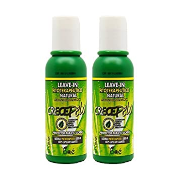 BOE Crece Pelo Leave-in Natural 4oz Pack of 2 by BOE