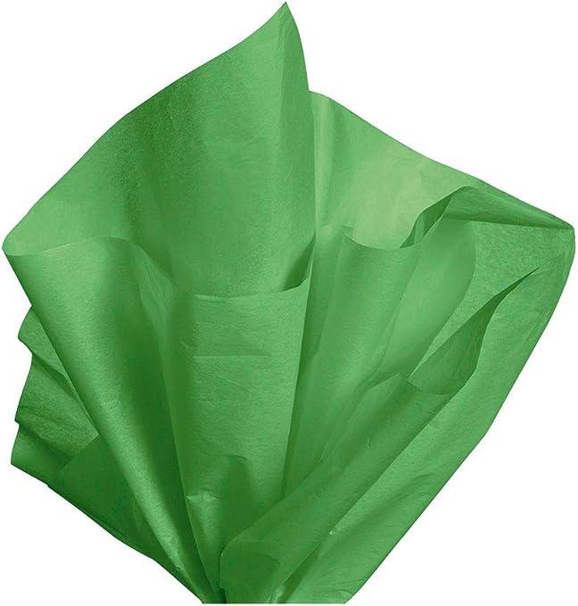 "LIGHT MID GREEN Tissue Paper Sheets 50cm x 75cm 18gsm  20/"" x 30/"" Acid Free"