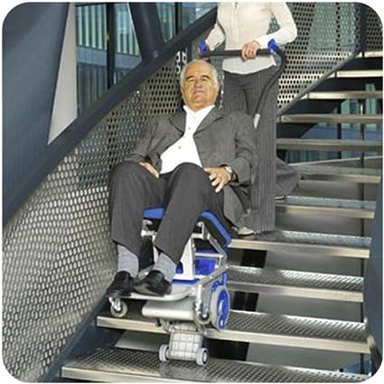 Silla Salva Escaleras Eléctrica Transportable: Amazon.es: Salud y cuidado personal