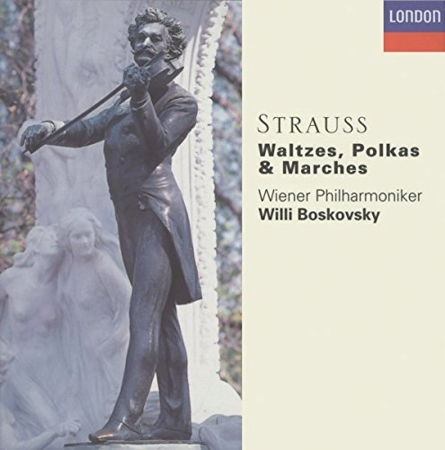 The Strauss Family: Waltzes, Polkas & Marches by Decca