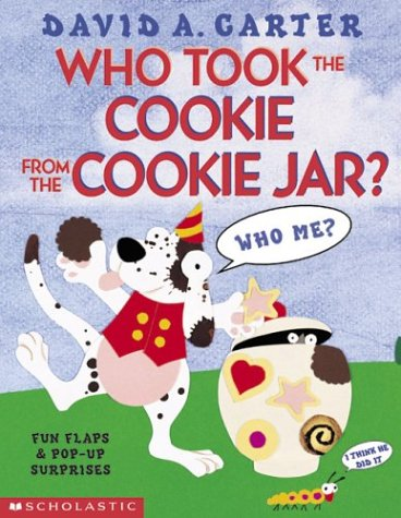 Who Stole The Cookie From The Cookie Jar Book Inspiration Who Took The Cookie From The Cookie Jar David Carter