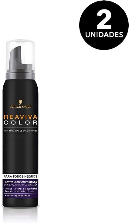 Reaviva Color - Color Negro - 2 uds de 75ml - Schwarzkopf