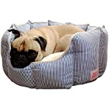 Good Life Solutions Premium Quality Washable Luxury Pet Bed - Small and Toy Breed Dog Bed or Cat Bed - Pet Beds with Therapeutic Cushion for Puppies and Kittens to Senior dogs and cats up to 10 pounds.