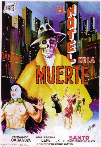 Santo en el hotel de la muerte Poster Movie Mexican 11x17 Sa