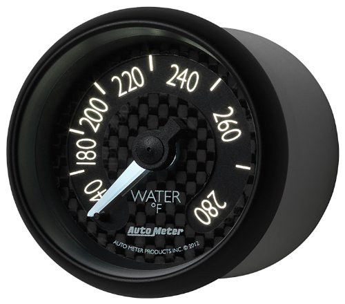 Auto Meter 8031 GT Series Mechanical Water Temperature Gauge by Auto Meter (Image #2)