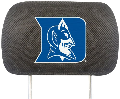 Fanmats 12564 NCAA Duke University Blue Devils Polyester Head Rest Cover by Fanmats