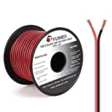 Tools & Hardware : TYUMEN 100FT 16 Gauge 2pin 2 Color Red Black Cable Hookup Electrical Wire LED Strips Extension Wire 12V/24V DC Cable, 16AWG Flexible Wire Extension Cord for LED Ribbon Lamp Tape Lighting