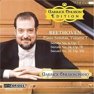Garrick Ohlsson Edition, Vol. 2 - Beethoven Piano Sonatas, Vol. 1