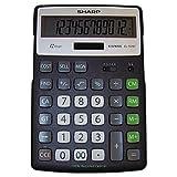 SHRELR297BBK - EL-R297BBK Recycled Series Calculator w/Kickstand