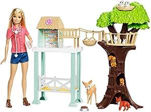 Barbie Animal Rescuer Doll & Playset