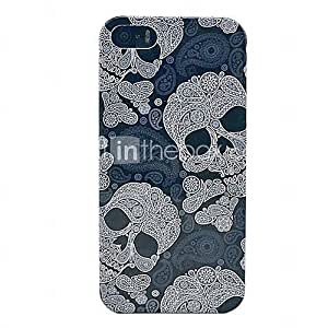 Stylish Skull Head Hard Back Cover Protector Case for iPhone 5/5S