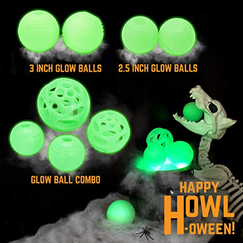 Chew King 2 Piece Glowing Fetch Ball