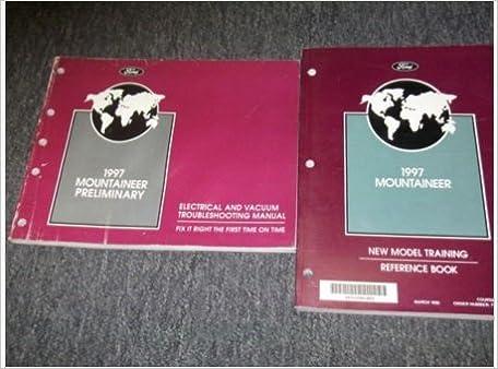 1997 mercury mountaineer electrical wiring diagram troubeshooting manual +  produ: ford: amazon com: books