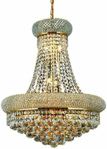 Elegant Lighting 1800D20G RC Primo 26-Inch High 14-Light Chandelier