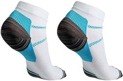 Paire de chaussettes anti-fatigue Coloris blanc