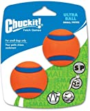 Chuckit! Small Ultra Ball 2-Inch, 2-Pack