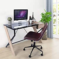 GreenForest 47 Inches Computer Writing Desk with Drawer