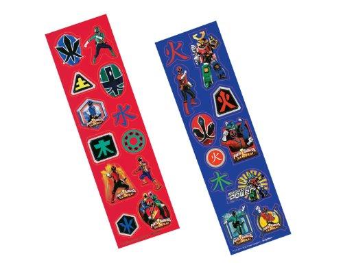 Power Rangers Samurai Sticker Strips