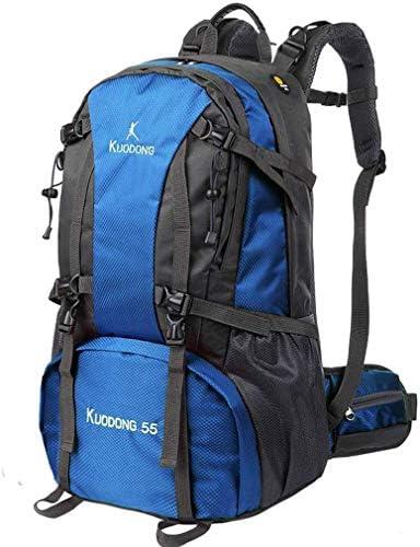 BAJIMI ハイキングバックパック、学生のバックパック、男性女性のための旅行バックパック防水通気性のトレッキングハイキング登山クライミングキャンプリュックサック(55L)