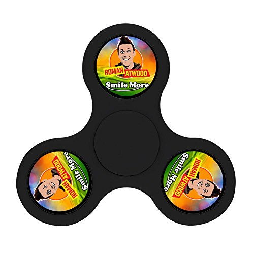 Topfirst Fidget Spinner Toy Smile More Roman Atwood Tri Spinner High Speed Spin