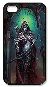 Iphone 4,4S case, World Of Warcraft Case Cover for Iphone 4,4S,Sylvanas cell phone Case for Iphone 4,4S mikci-216911 at miici.