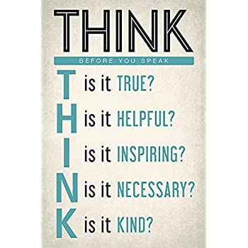 how to think before you talk