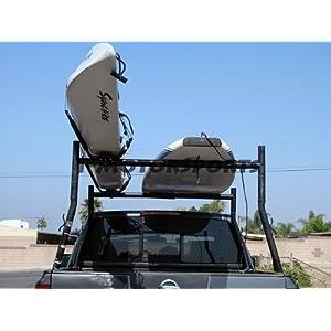 Lifetime Warranty TMS® 2 Pairs J-Bar Rack HD Kayak Carrier Canoe Boat Surf Ski Roof Top Mount Car SUV Crossbar
