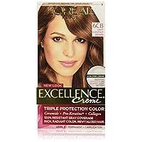 L'Oréal Paris Excellence Créme Permanent Hair Color, 6CB Light Chestnut Brown