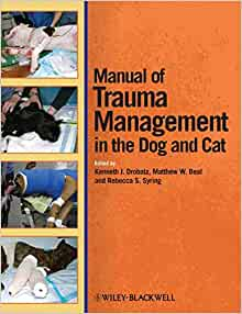 Manual Of Trauma Management In The Dog And Cat border=