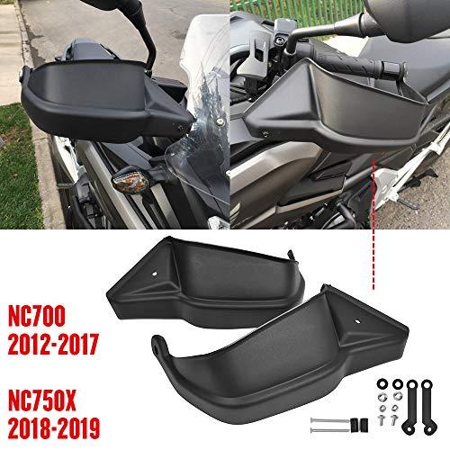 NC700X Motorcycle Handguards For Honda NC700 X 2012 2013 2014 2015 2016 2017 NC750S NC750X 2018 2019 Large Hand Guards Protector Black