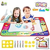 Pipigo Water Doodle Mat Drawing Mat Toddler Toys Gifts for 2 3 4 Year Old Girls Boys Large Size...